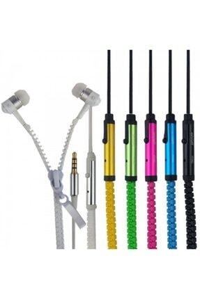 Zipper Glue Mikrofonlu Fermuarlı Kulaklık 0