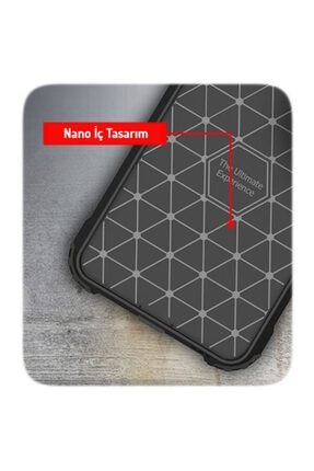 cupcase Xiaomi Redmi Note 8 Kılıf Desenli Sert Korumalı Zırh Tank Kapak - Atatürk 3