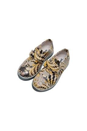Kız Çocuk Sarı Günlük Ayakkabı Wb018-kcsnk002 resmi