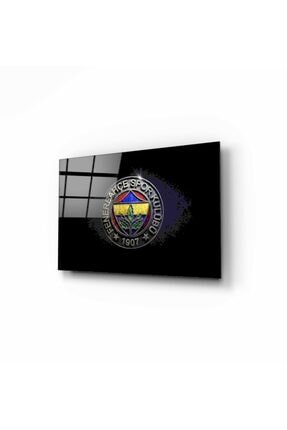 Pi Dekorasyon Fenerbahçe Cam Tablo 50x70 Cm 1