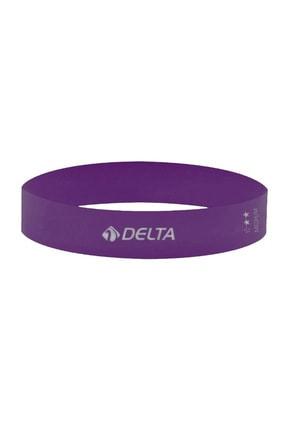 Delta Orta Sert Aerobik Bandı Latex Bant Pilates Yoga Lastiği 0