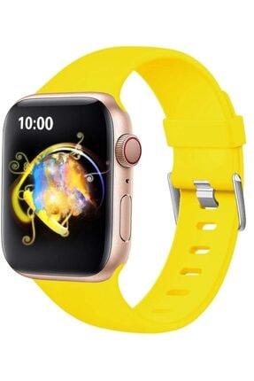 Ekoodukkan Apple Watch 2 3 4 5 - 42 - 44 Mm Silikon Kordon Kayış 0