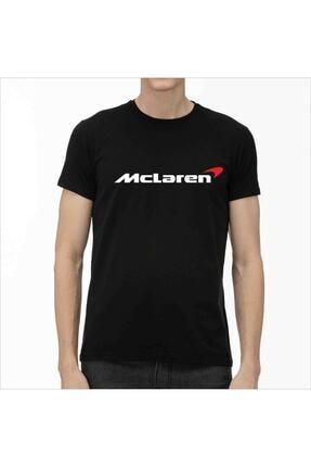 G332 T-shirt Siyah Slimfit - Mclaren (%100 Pamuklu) 0