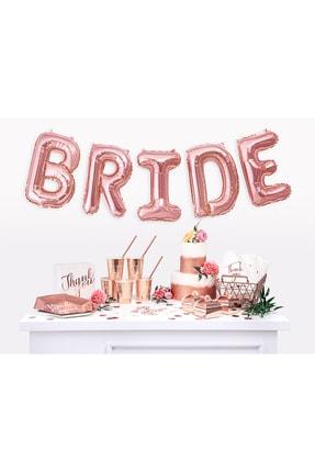 KullanAt Market Bride To Be Rose Gold Baskılı Beyaz Kağıt Peçete 33x33cm 20li 4