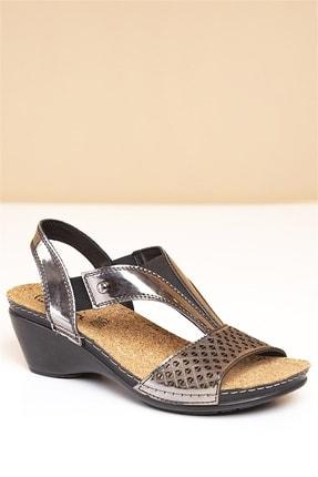 Pierre Cardin PC-1392 Füme Kadın Sandalet 1