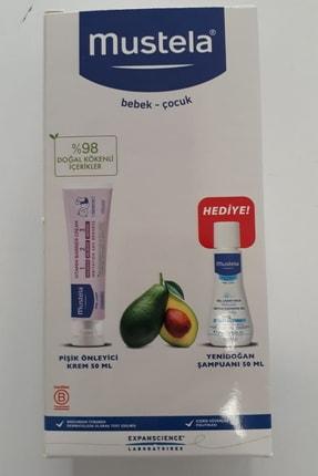 Mustela Pişik Önleyici Krem 50ml + Yeni Doğan Şampuanı 50 Ml 1