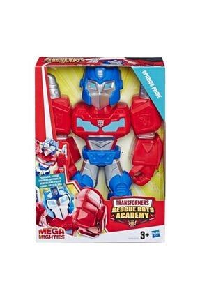Playskool Super Hero Adventures Mega Mighties Transformers Rescue Bots Academy Optimus Prime 1