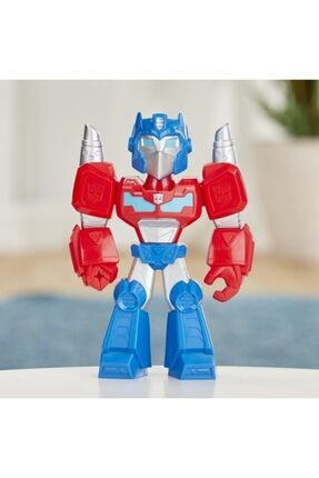 Playskool Super Hero Adventures Mega Mighties Transformers Rescue Bots Academy Optimus Prime 2