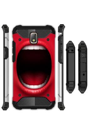 cupcase Samsung Galaxy J3 Pro Kılıf Desenli Sert Korumalı Zırh Tank Kapak - Imdaaat! 0