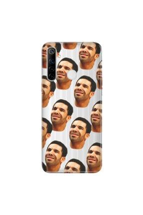 cupcase Realme 5i Esnek Silikon Telefon Kabı Kapak - Drake 0