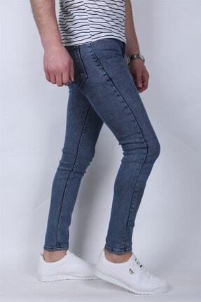 Giygit Dar Paça Likralı Mavi Kot Pantolon 2