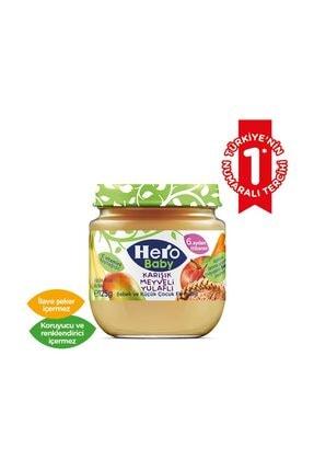 Hero Baby Karışık Meyveli Yulaflı Kavanoz Maması 125 gr 1