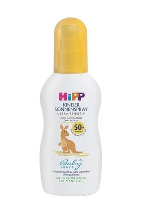 Hipp Babysanft Sprey güneş Kremi 50 Faktör 150 ml 0