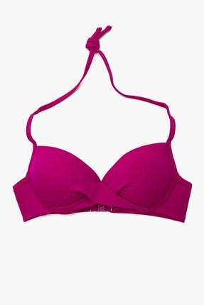 Koton Kadın Fuşya Bikini Üstü 0YAK89557OM 0