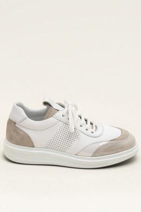 Elle FARSON Beyaz Kombin Kadın  Sneaker 20YSE192360 3