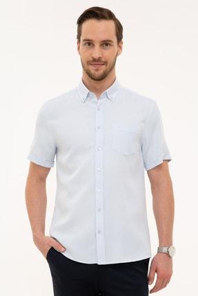 Picture of Açık Mavi Regular Fit Kısa Kollu Gömlek