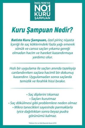 Batiste 3 x Orijinal Kuru Şampuan - Original Dry Shampoo 200ml 5010724527433 4