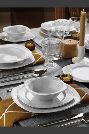 Kütahya Porselen Çisil 48 Parça 12 Kişilik Yemek Takımı 0