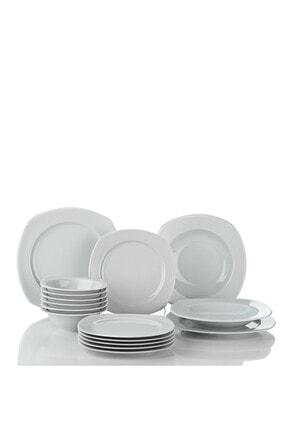 Kütahya Porselen Çisil 48 Parça 12 Kişilik Yemek Takımı 1