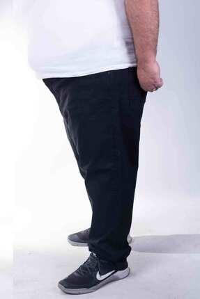ZENET JEANS Erkek Siyah Büyük Beden Kot Pantolon 1