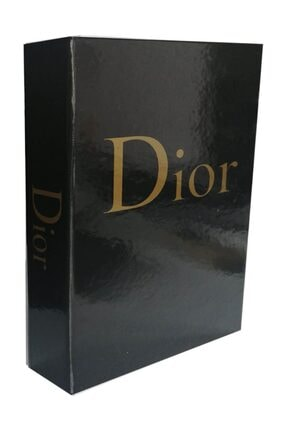 LYN HOME & DECOR Dior Siyah  Dekoratif Kutu 27x19x4 0