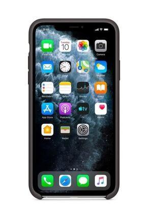 Telefon Aksesuarları iPhone 11 Pro Max Silikon Kılıf - Orijinal - APPLE TR GARANTİLİ 2
