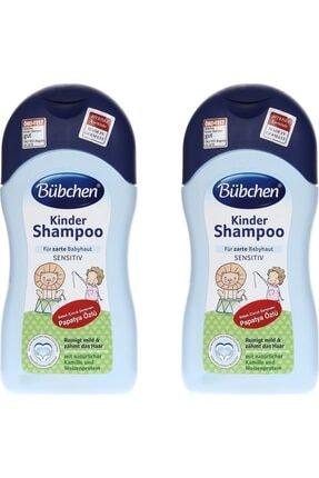 Bübchen Papatya Özlü Bebek Şampuanı 400 ml 2'li 0