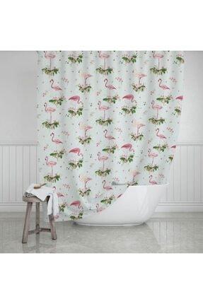 Zethome Evdy Banyo Duş Perdesi 9888 Çift Kanat 2x110x200 0