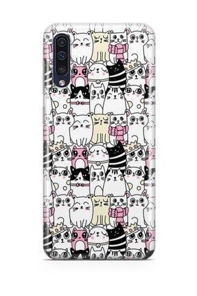 Melefoni Samsung Galaxy A70 Kılıf Kitty Serisi Jasmine 0