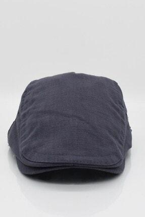 Külah Erkek Şapka Yazlık Keten Spor Kasket - Gri 2