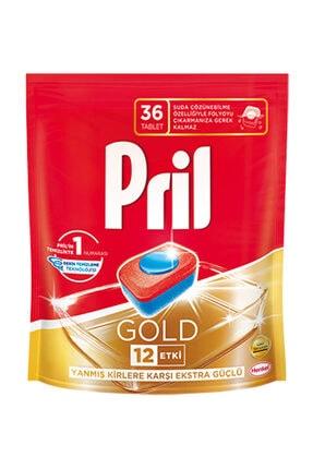 Pril Gold Bulaşık Makinesi Deterjanı 36 Tablet 0