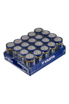Varta Endüstriyel 20 X C Size Orta Boy Industrial Pil 0