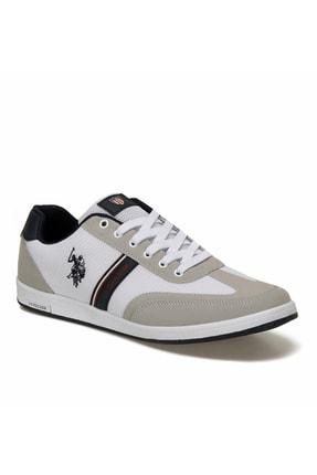 US Polo Assn U.s Polo Assn. Kares Beyaz Erkek Sneaker 0