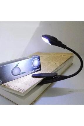 BLUE İNTER Kitap Okuma Işığı Led Booklight Kıskaçlı Pilli Model Led Işık 4