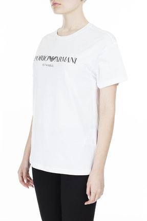 Emporio Armani Kadın Beyaz T-Shirt 3Z2T7Q 2Jo4Z S121 2