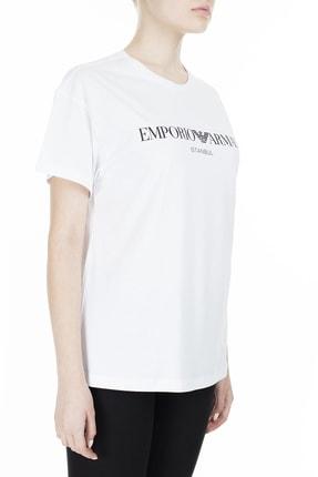 Emporio Armani Kadın Beyaz T-Shirt 3Z2T7Q 2Jo4Z S121 3