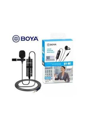 BOYA By-m1 Kamera Için Yaka Mikrofonu By-m1 1