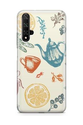 Melefoni Huawei Nova 5t Kılıf Tea Time Serisi Destiny 1
