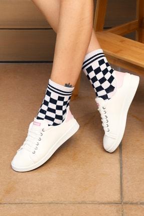 Kadınelishoes Beyaz Pudra Kadın Ayakkabı M4000-19-110003R 0