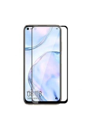 Dijimedia Huawei P40 Lite Komple Kapatan Kenarları Kırılmaya Dayanıklı Cam Ekran Koruyucu Siyah 0