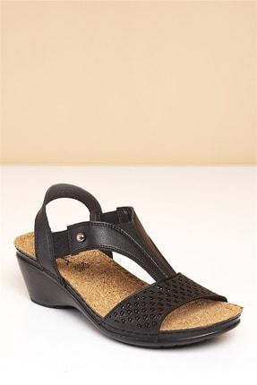 Pierre Cardin PC-1392 Siyah Kadın Sandalet 1