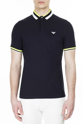 Emporio Armani Polo T Shirt Erkek Polo 3h1f84 1j46z 0924 0