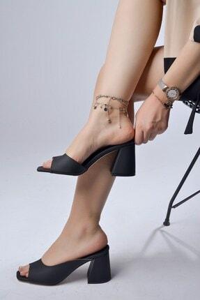 Tessera Topuklu Kadın Terlik 2