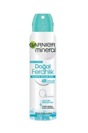 Garnier Hassas Ciltler Için Doğal Ferahlık Kadın Deodorant 150ml 0