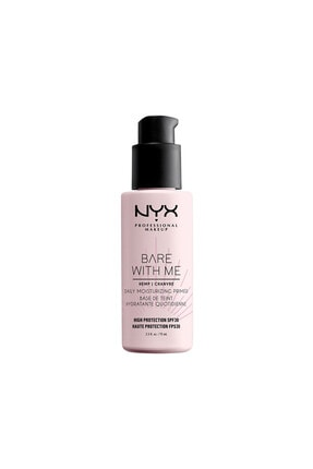 NYX Professional Makeup Bare With Me Cannabis Sativa Seed Oil Spf30 Primer 800897202118 0