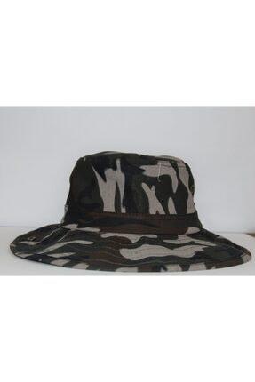 PRC şapka Yılmazel Yazlık Katlanabilir Safari Şapka Havalandırmalı 0