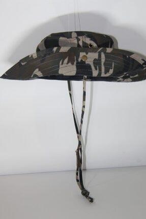 PRC şapka Yılmazel Yazlık Katlanabilir Safari Şapka Havalandırmalı 2