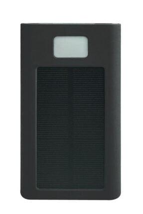 BLUE İNTER Wireless Kablosuz 10000 Mah Güneş Enerjili Solar Powerbank Elektrik Ile De Şarj Edilebilir I-020 2