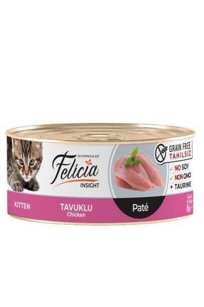 Felicia Tahılsız Tavuklu Kıyılmış Yavru Kedi Konservesi 85 Gr 0