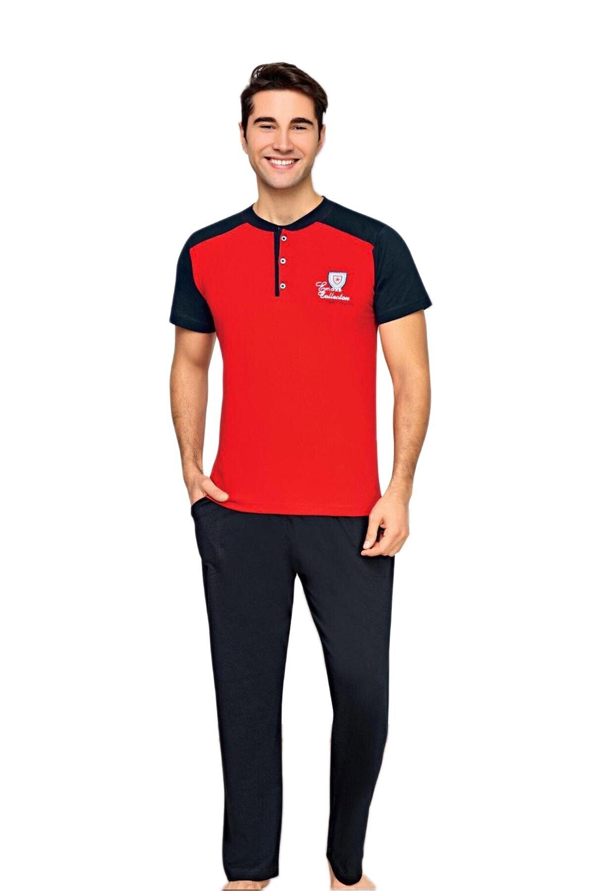 Colt Kırmızı/lacivert Pijama Takımı